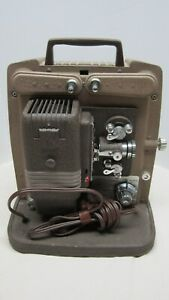 Vintage Keystone 8mm Film Movie Projector Model K100 Works