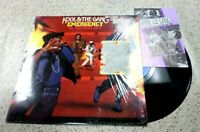 VINYL ALBUM RECORD,KOOL AND THE GANG-EMERGENCY,W/ INSERT,IN SHRINK,DE-LITE