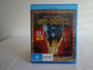 Army of Darkness (20th Anniversary Director's Cut BluRay) Brand New!