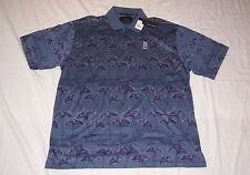 NEW WITH TAGS MEN'S GREG NORMAN SHORT SLEEVE BLUE POLO SIZE XXL