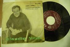 """CLAUDIO VILLA"""" ADDIO ADDIO-disco 45 giri CETRA It 1962"""" FESTIVAL SANREMO"""