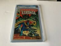 DOCTOR STRANGE 183 CGC 9.2 WHITE PAGES LAST ISSUE MARVEL COMICS 1969