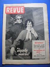 REVUE Nr.50/1952 *ZEITSCHRIFT*ZUGSPITZE*FILMSTARS*HITLER*ADEL*LIFE STYLE