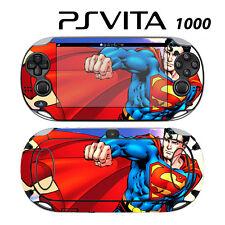 Vinyl Decal Skin Sticker for Sony PS Vita PSV 1000 Superman Comics