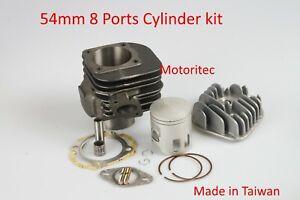 Racing 8 Ports 103c 54mm Cylinder kit for Dinli Diamond Back 90cc  2T 90 ATV TW