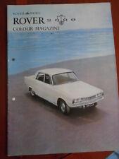 Rover 2000 News Colour Magazine brochure c1960's
