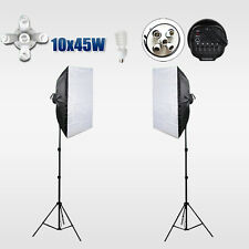 Photo Studio Softbox Continuous Lighting Video Soft Box Light Tripod Stand Kit