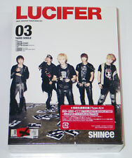 SHINee - LUCIFER (JAPAN 3rd Single) [CD+DVD+MP3 Button Limited Edition Type-A]