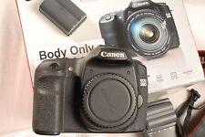 Canon EOS 50D 15.1MP digitale Spiegelreflexkamera-Schwarz (Body Only), * NEAR MINT *