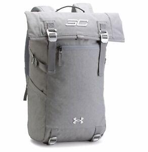 New Men's UA Under Armour SC30 Signature Rolltop Backpack - 1300225-013 - Grey