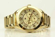 Tommy Hilfiger Damen Uhr Armbanduhr goldfarben + BOX