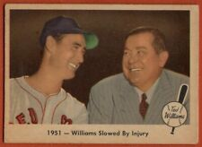 1959 Fleer #42 Ted Williams VG-VGEX Wax Stain Boston Red Sox FREE SHIPPING