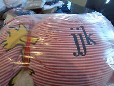 Pottery Barn Kids Snoopy sleeping bag mono JJK  New wo tag