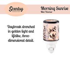 BNIB SCENTSY MINI PLUG IN WARMER MORNING SUNRISE MELTS WAX