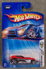 HOT WHEELS ~ 2004 FIRST EDITIONS ~ SHREDDED ~ RED