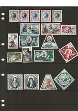 More details for monaco(yo-89)1955-56 range of sets & part set & singles & dues umm / mh 3 cards