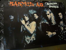 BABYLON A.D. Large Rare 1992 PROMO POSTER Nothing Sacred mint condition
