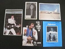 Elvis Presley Collector Set; The Legend Lives On, Reflections, Airplane Photos