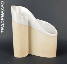 Vintage 1950's ROSENTHAL Porcelain Candleholder + Vase West German Pottery