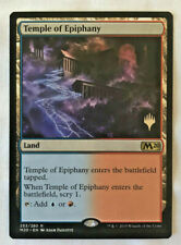 Mint Stamped Silver Emblem Promo Pack TEMPLE OF EPIPHANY M20 Magic MTG