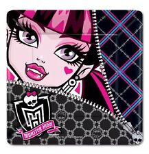 "New 8ct Monster High Square Dessert Plates 7"" Girls Party Supplies"