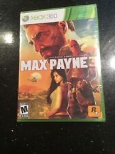 Max Payne 3  (Xbox 360, 2012) Brand New Factory Sealed