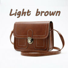 8fbb115d51 Handbag Lady Shoulder Bag Tote Purse Faux Leather Women Messenger Hobo  Light Brown