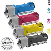 4 BLACK & COLOR 106R01597 Toner Cartridge for Xerox Phaser 6500 Workcentre 6505