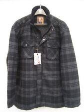 Manteaux et vestes noir en laine pour homme, taille 52