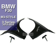 M3 Style With Chrome Trim Side Vent For BMW 3Series 2012 2013 2014 2015 F30