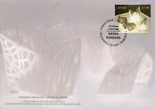 Latvia 2017 FDC Dainis Pundus Contemporary Art 1v Set Cover Stamps