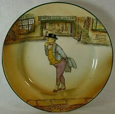 "ROYAL DOULTON china DICKENS D2973 pattern DESSERT PLATE 6-5/8"" Mr. Pickwick"