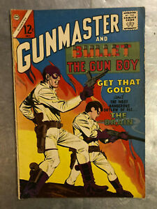 Charlton Comic Group Gunmaster #84 5.0 VG/FN silver age comic book