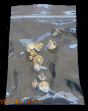 10 DELUXE METAL HAT PIN UP BACKS USED ON DISNEY PIN CLUTCH TIE TAC JEWELRY