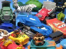 Mixed Toy Cars And Action Figures Lot