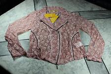 BIBA-Blazer/Bluse, rosa, Spitze, Gr.44, NAGELNEU! NP 99,95 €