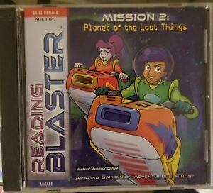 Reading Blaster Mission 2: Planet of the Lost Things(CD-ROM)Ages 6-7 Home School