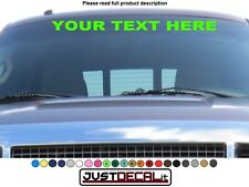 Car Windshield Decal sticker graphic visor window banner stripe