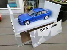 1:18 UT Models BMW E36  M3 Coupe In Blue Exellent NM  in box