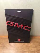 1994 GMC Truck Full Line Sales Brochure