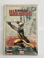 Savage Wolverine Vol 1 Kill Island - Marvel comics Hardcover graphic Novel NEW!