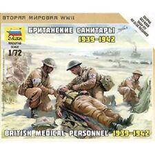 British Medic Team 1/72 Military Model Kit - Zvezda 6228