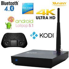 Measy 4K Android 5.1 Octa Core TV Box KODI WiFi GP800 Game Mouse Keyboard Remote