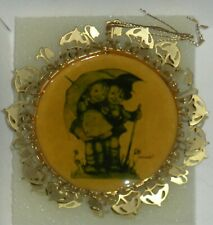 The Hummel Gold Christmas Ornament Collection-Sunny Weather