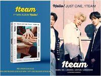 1 TEAM: Hello Debut Mini Album* Full Package Poster (CD, Big Live Works)
