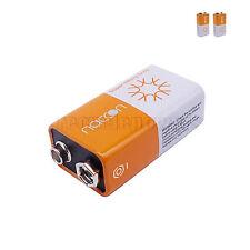 2 NEW RoHS 6F22 9V PP3 Carbon-Zinc Battery Single Use