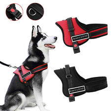 More details for non pull dog harness adjustable soft padded vest small medium large extra big uk