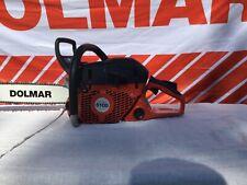 "Dolmar PS-6100   Professional Chainsaw 18"" Guide Bar 3/8 chain, bar cover"