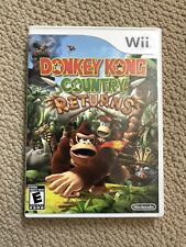Nintendo Donkey Kong Country Returns (Nintendo Wii, 2010) - Tested