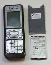 AASTRA 610D Handset Ladestation Netzteil Akku Gürtelclip Rechnung MWST. ausgew.